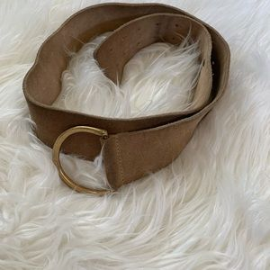 GAP TAN LEATHER BELT